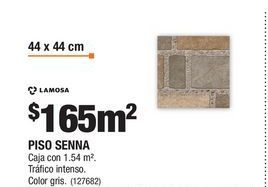 Oferta de Pisos Lamosa por $165