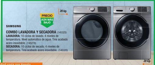 Oferta de Lavadora secadora Samsung por