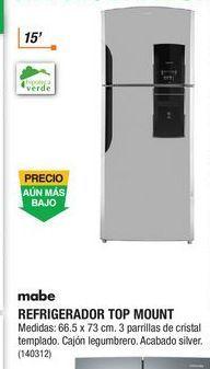 Oferta de Refrigeradores Mabe por