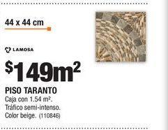 Oferta de Pisos Lamosa por $149