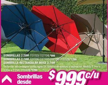 Oferta de Sombrilla por $999