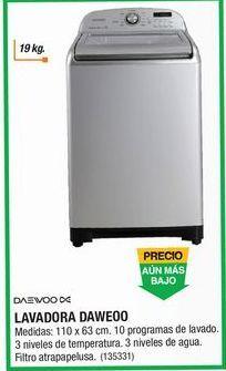 Oferta de Lavadora de carga superior Daewoo por