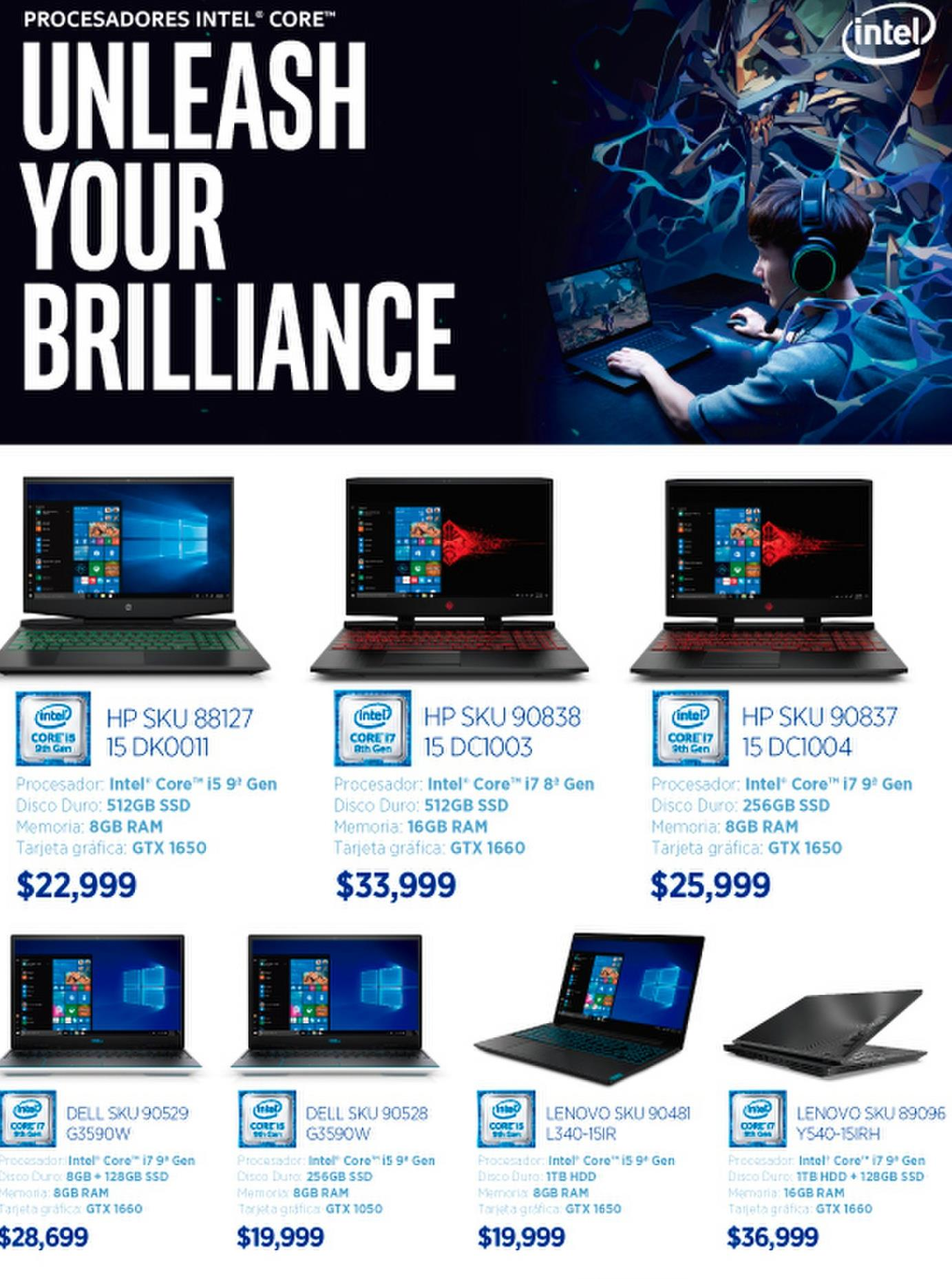 Oferta de Laptops HP por