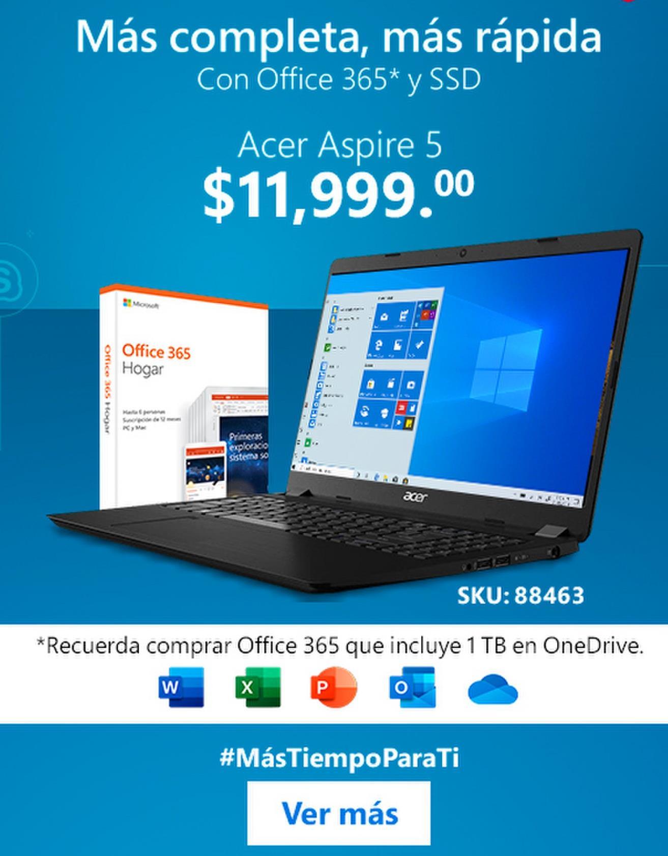 Oferta de Laptops Acer por
