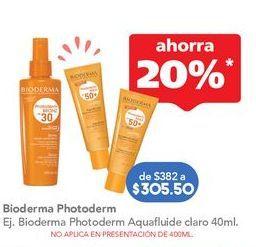 Oferta de Protector solar Bioderma por $305