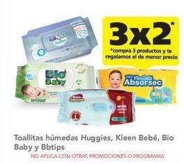 Oferta de Toallitas húmedas para bebé Huggies por