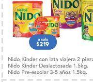 Oferta de Leche en polvo Nido por $219