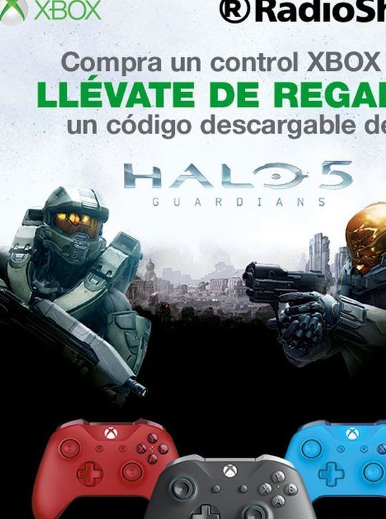 Oferta de Mando Xbox One Microsoft por