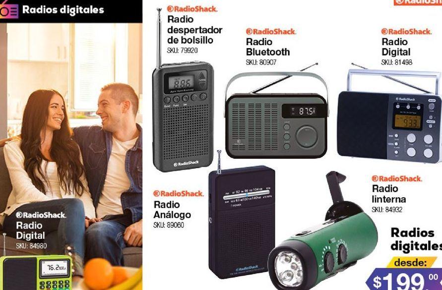 Oferta de Radio Radioshack por