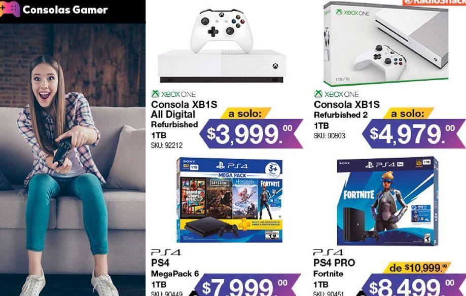 Oferta de Xbox One Microsoft por