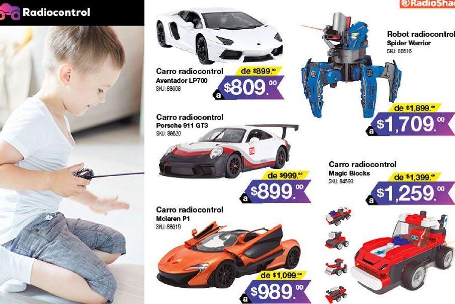 Oferta de Auto de juguete Radioshack por