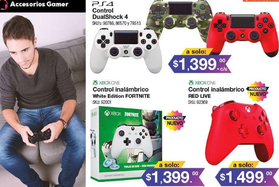 Oferta de Mando ps4 Sony por