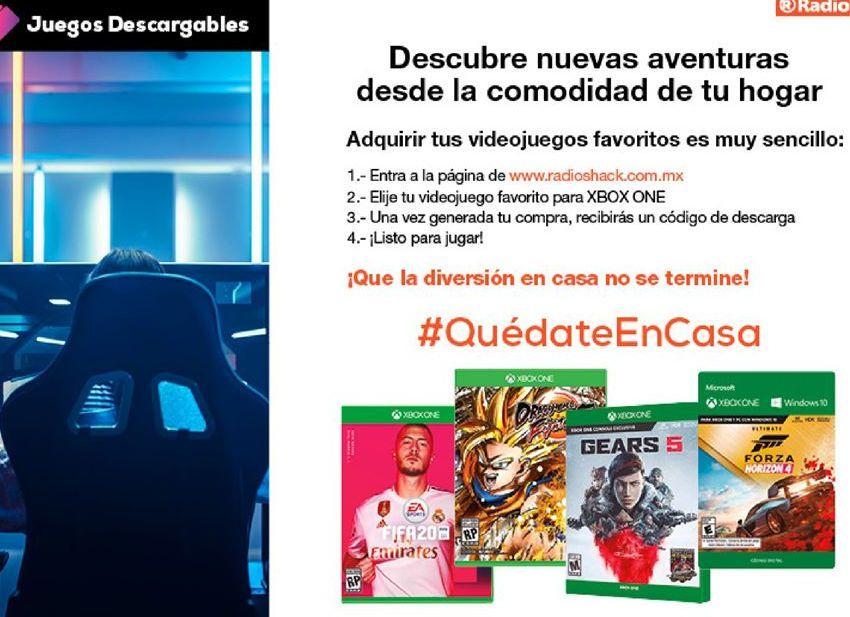 Oferta de Jugos Xbox por