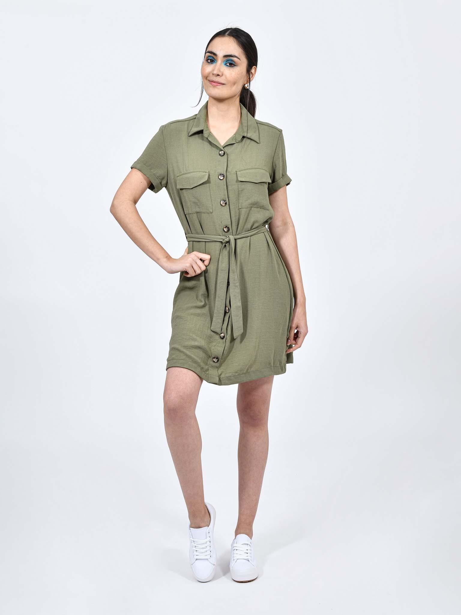 Oferta de Vestido Casual Cargo por $251.1