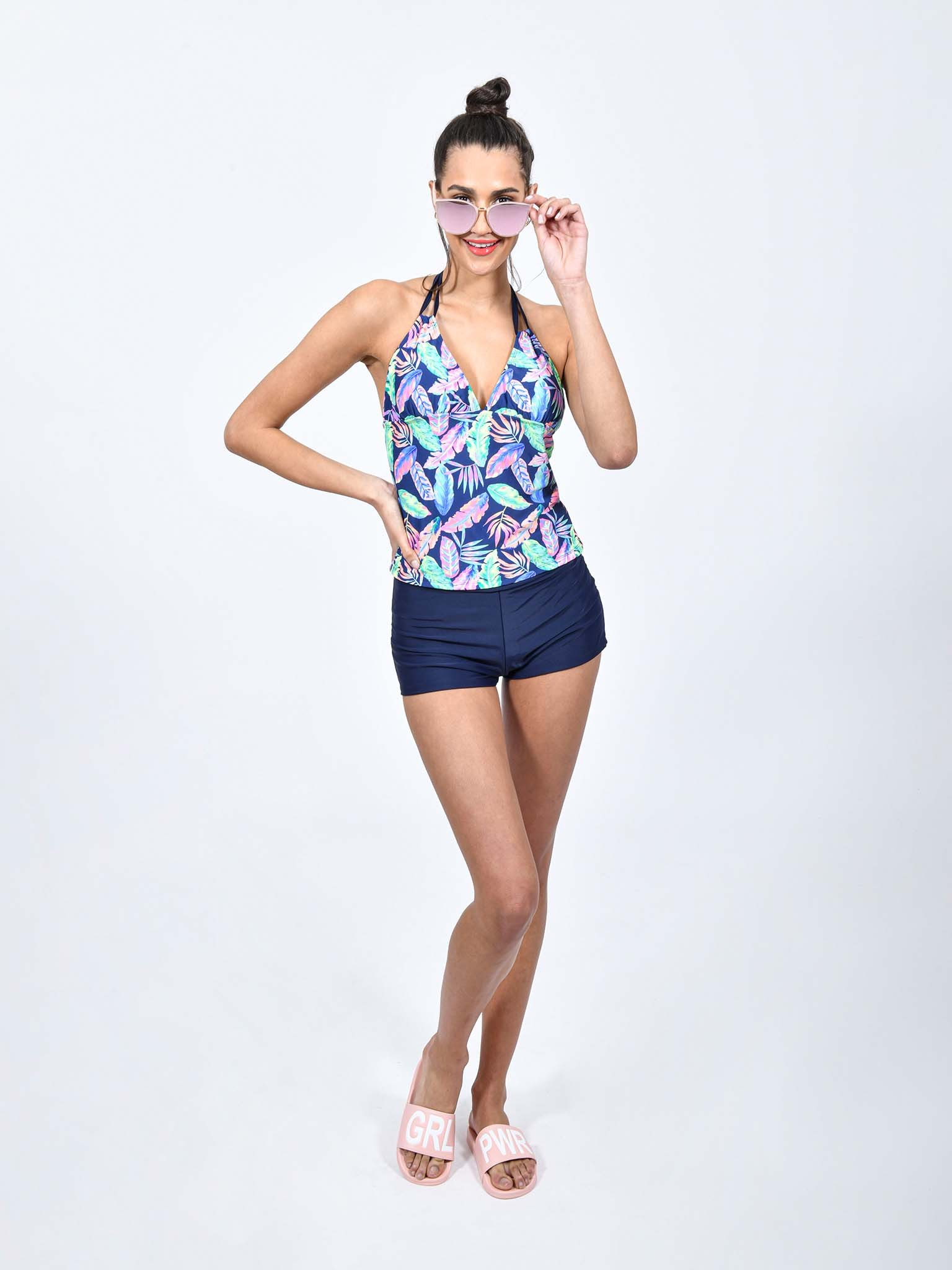 Oferta de Set de Shortini Swimdress Tropical por $195.3