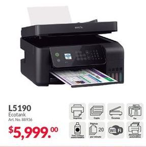 Oferta de Impresoras Epson por $5999