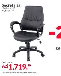 Oferta de Silla de estudio por $1719.2