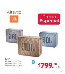 Oferta de Bocinas bluetooth JBL por $799