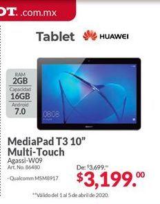 Oferta de Tablet Android Huawei por $3199