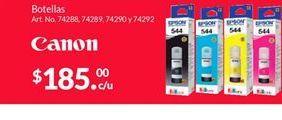 Oferta de Consumibles Canon por $185