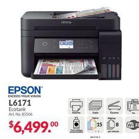 Oferta de Impresora multifunción Epson por $6499