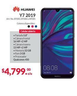 Oferta de Celulares Huawei por $4799