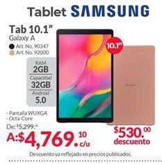 Oferta de Tablet Android Samsung por $4769.1