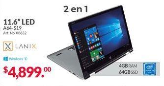 Oferta de Laptop Lanix por $4899