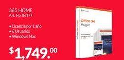 Oferta de Office 365 Microsoft por $1749