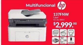 Oferta de Impresoras HP por $2999