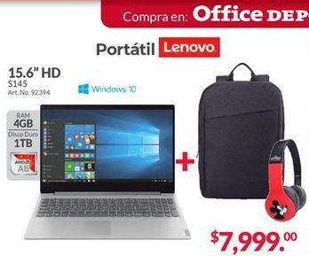 Oferta de Laptop Lenovo por $7999