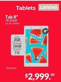 Oferta de Tablet Android Lenovo por $2999