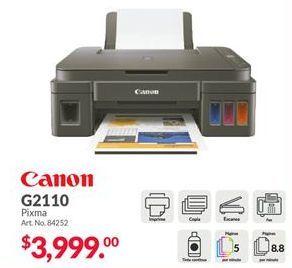 Oferta de Impresoras Canon por $3999