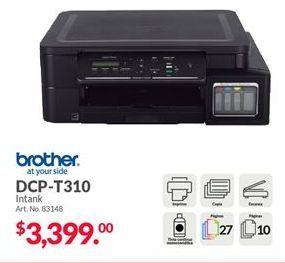 Oferta de Impresoras Brother por $3399