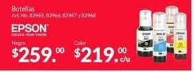 Oferta de Consumibles Epson por $259