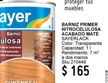 Oferta de Barniz por $165