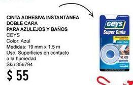 Oferta de Cinta adhesiva Ceys por $55