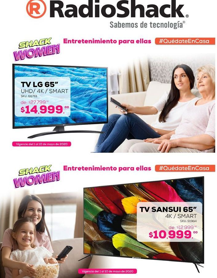 Oferta de Smart tv led LG por