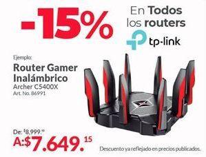 Oferta de Router TP-Link por $7649.15