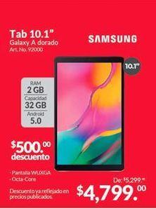 Oferta de Tablet Android Samsung por $4799