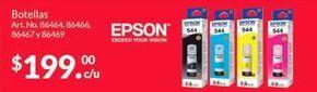 Oferta de Consumibles Epson por $199