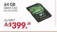 Oferta de Memoria externa Kingston por $399.2