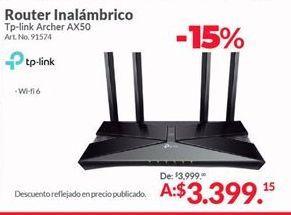 Oferta de Router TP-Link por $3399.15