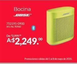 Oferta de Bocinas bluetooth Bose por $2249
