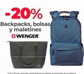 Oferta de Mochilas Wenger por