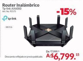 Oferta de Router TP-Link por $6799.15