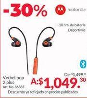 Oferta de Audifonos bluetooth Motorola por $1049.3