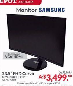Oferta de Monitor 24'' Samsung por $3499