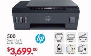 Oferta de Impresoras HP por $3699