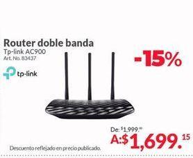 Oferta de Router TP-Link por $1699.15